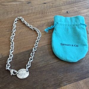 Tiffany & Co return to Tiffany choker necklace